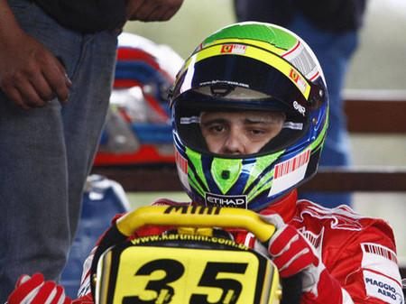 Massa vuelve a pilotar al volante de un Kart