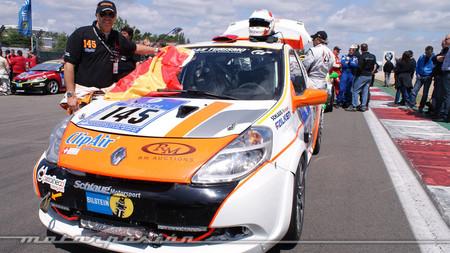 El único español que finalizó la carrera