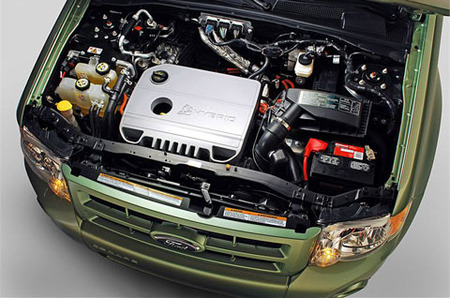 Ford Escape Hybrid - Motor