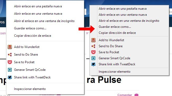 Como recuperar el aspecto anterior del menú contextual de Chrome en Windows