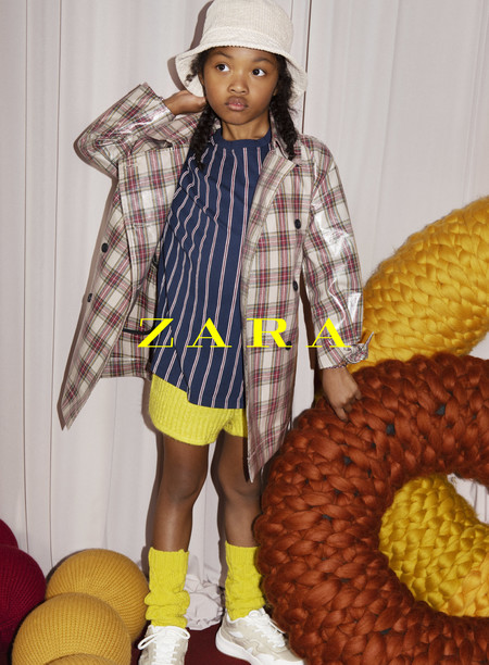 Mucha atención a la nueva colección de Zara Kids: es posible que las más pequeñas de la casa sean las que desprendan más estilo