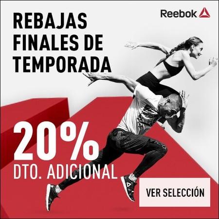 Rebajas Reebok: 20% de descuento adicional en la tienda oficial con este cupón