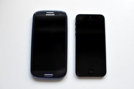 Galaxy S3 frente a iPhone 5