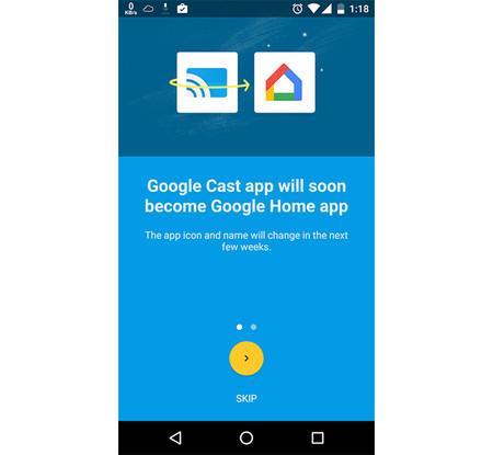 Google Cast será Google Home