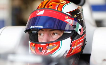 Raffaele Marciello GP2 Test Abu Dabi Trident