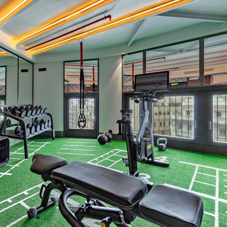 Pestana Cr7 Gran Via Madrid Fitness Box
