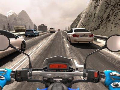Traffic Rider para Android, siente la adrenalina mientras sorteas el tráfico en este juego de motos