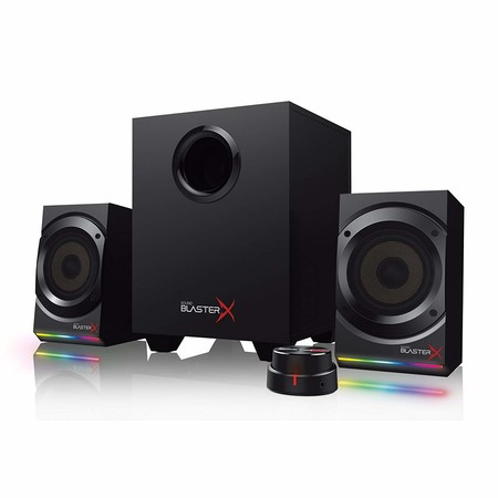 Altavoces Creative Sound Blaster X Kratos S5, con iluminación RGB, a su precio mínimo en Amazon: 89,99 euros