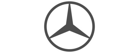 Logo Mercedes Benz on mercedes suv