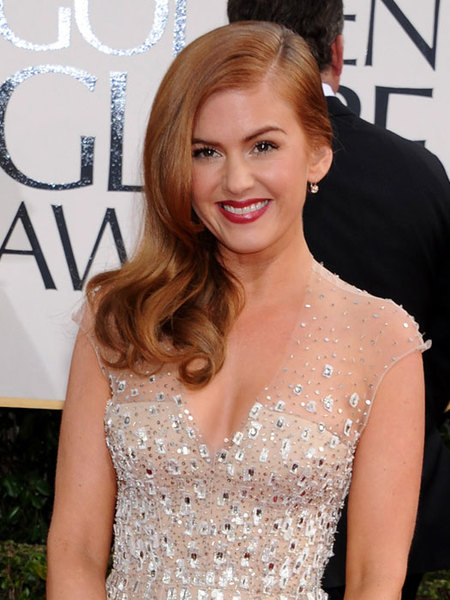 Isla Fisher pelirroja