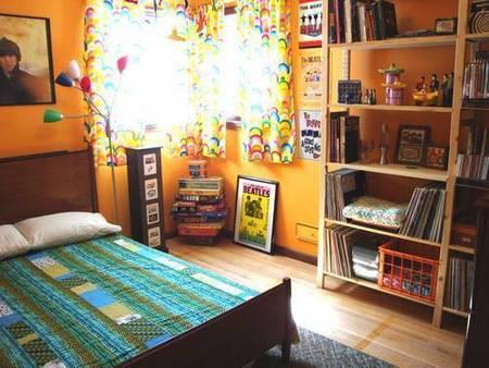 Puertas abiertas: el dormitorio de un beatlemaniaco