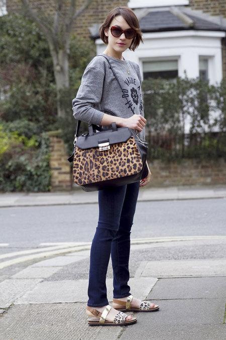 Leopardo Estampado Moda Blogger