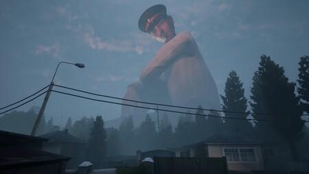 Nuevo tráiler de Militsioner, el perturbador juego en el que un policía gigante te vigila constantemente