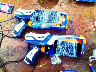 Android llega incluso a las pistolas de laser tag