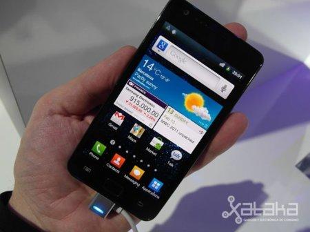 Samsung Galaxy SII. Lo probamos en el MWC 2011