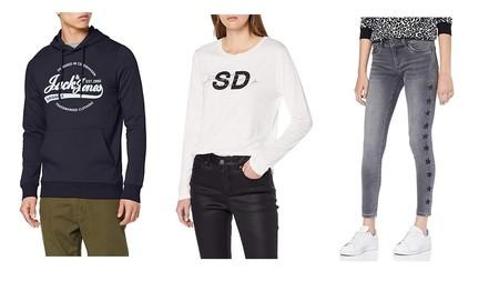 Chollos en tallas sueltas de pantalones, camisetas y sudaderas de marcas como Levi's, Superdry o Jack & Jones en Amazon