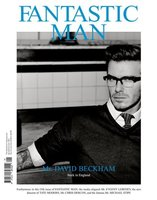 David Beckham para Fantastic Man de Alexander McQueen, Dior y Yves Saint Laurent.