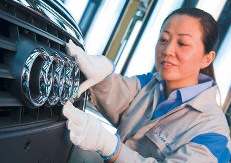 Fábrica de FAW/Audi en China