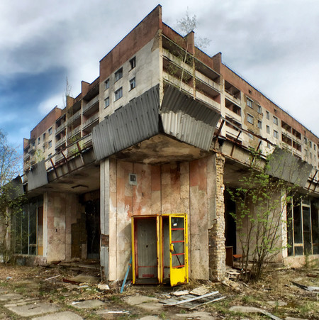 Apartment Flat Prypiat Chernobyl Exclusion Zone