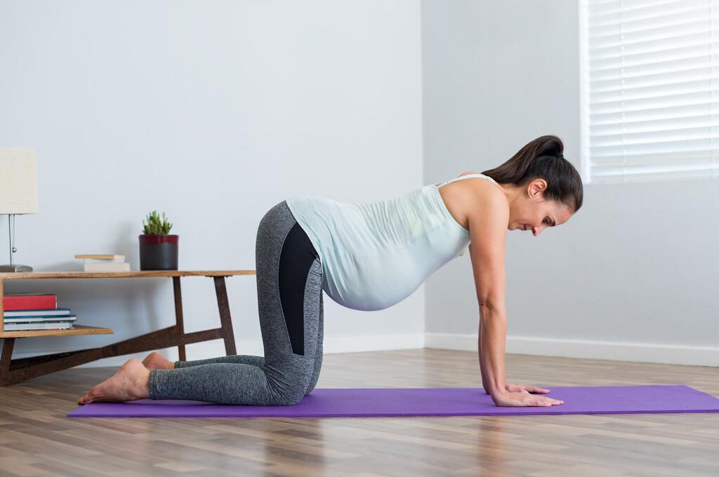 La alimentación sana y el ejercicio físico durante el embarazo favorecen la salud cardiovascular del bebé: estos son los mejores ejercicios para practicar en esta etapa