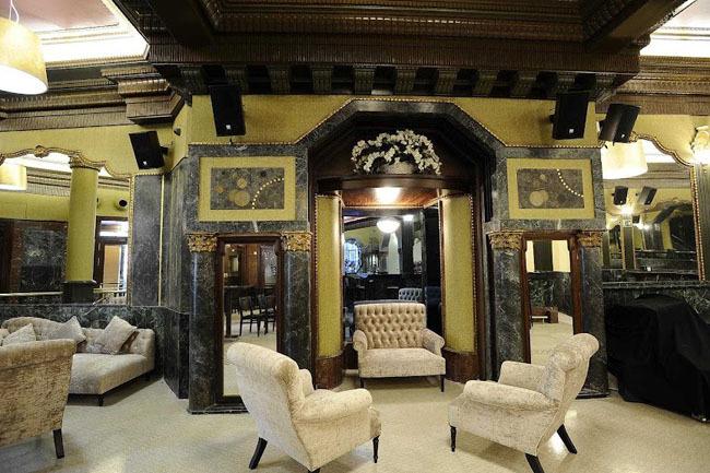 Interior del Café Boulevard