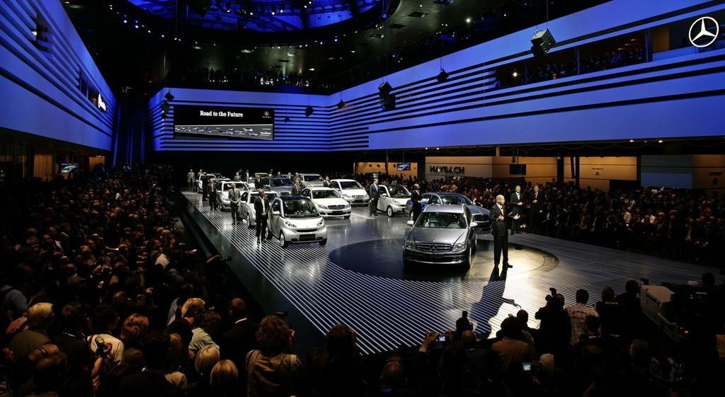 Foto de Salón de Frankfurt 2007: Mercedes Benz (11/18)