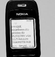 Citas médicas recordadas por SMS
