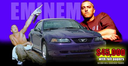 El 1999 Ford Mustang de Eminem a la venta en eBay
