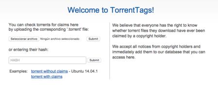 Torrentags, la web que te dice si el torrent que quieres descargar puede traerte problemas