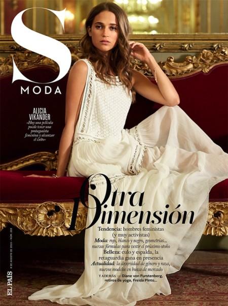 Alicia Vikander S Moda August 2015 Cover