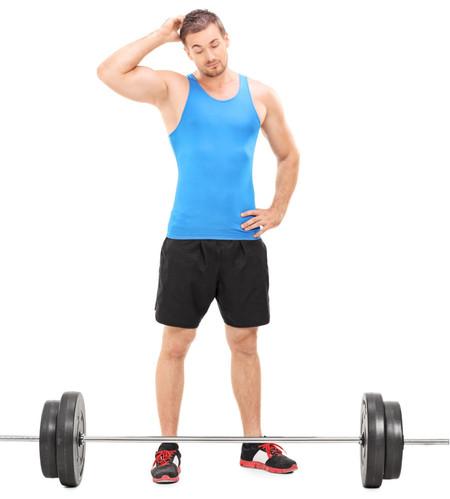principiante en el gym