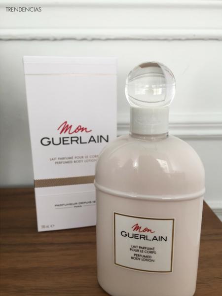 Probamos Mon Guerlain body lotion, la hidratante que mejor huele del planeta