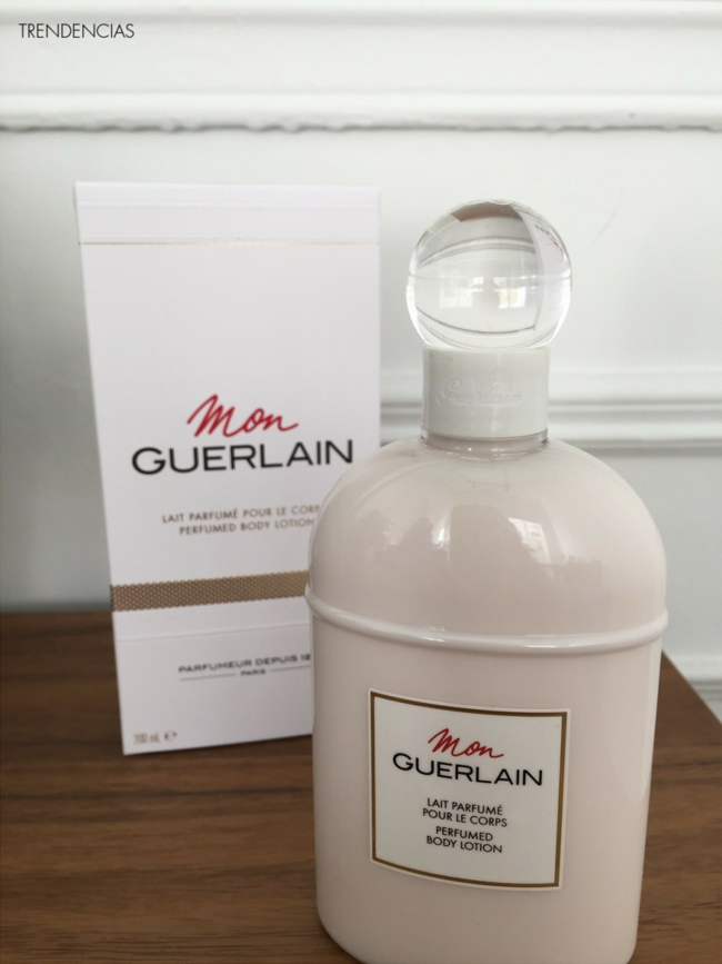 review mon guerlain body lotion