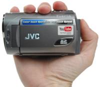 JVC Everio GZ-MS100, con subida a YouTube