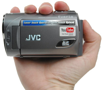 JVC Everio GZ-MS100, con subida a YouTube