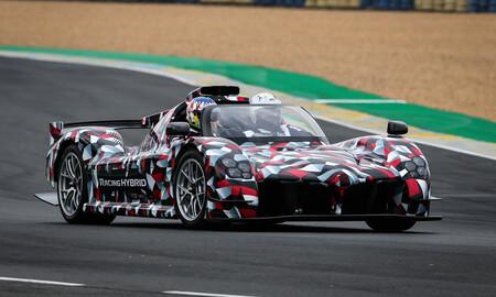 ¡Está vivo! El Toyota GR Super Sport se ha dejado ver por primera vez en las 24 Horas de Le Mans