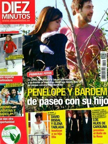 No me lo puedo creer: hemos visto al nene de Penélope Cruz y Javier Bardem