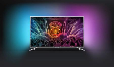 Philips apuesta por Google Cast en su nueva gama 6000 de smart TV