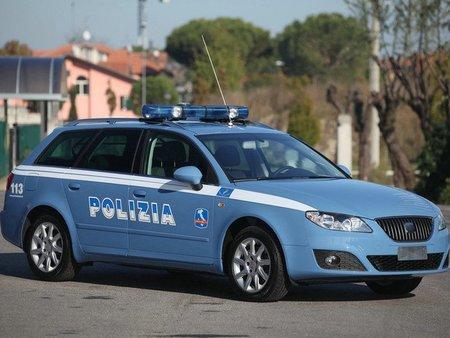 El SEAT Exeo ST se viste de policía en Italia