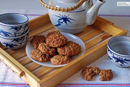 Galletas tiernas de puré de manzana y avena: receta para la sobremesa o la merienda