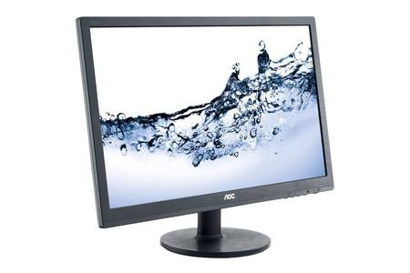 Oferta Flash: monitor de 24 pulgadas AOC E2460SH, con resolución FullHD, por 99,99 euros