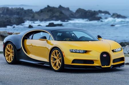 Bugatti aprovecha el evento de Pebble Beach para entregar el primer Chiron vendido en EE. UU.