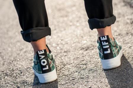 Las zapatillas optimistas de Céline que inspiran a NLY Design