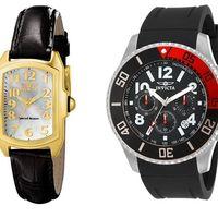 Hasta 70% de descuento en relojes Invicta en Amazon. Varias ofertas flash que finalizan a medianoche
