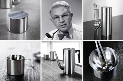 Cylinda, diseño en metal de Arne Jacobsen
