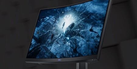 Este monitor gaming curvo Dell es un chollo: con panel VA de 24 pulgadas, 165 Hz de refresco y rozando los 100 euros en Amazon