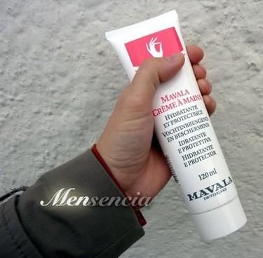 La Crema de manos Mavala es ligera y no-grasa, como os gusta a los hombres