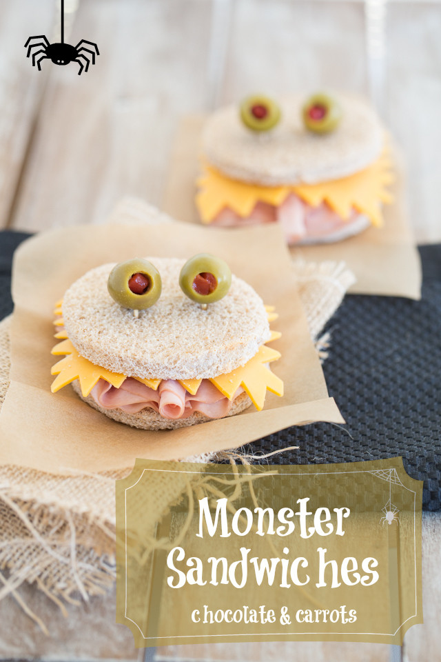 Monster Sandwiches Chocolateandcarrots Com