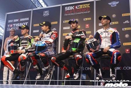 Superbikes Portimao 2012: las divertidas ruedas de prensa