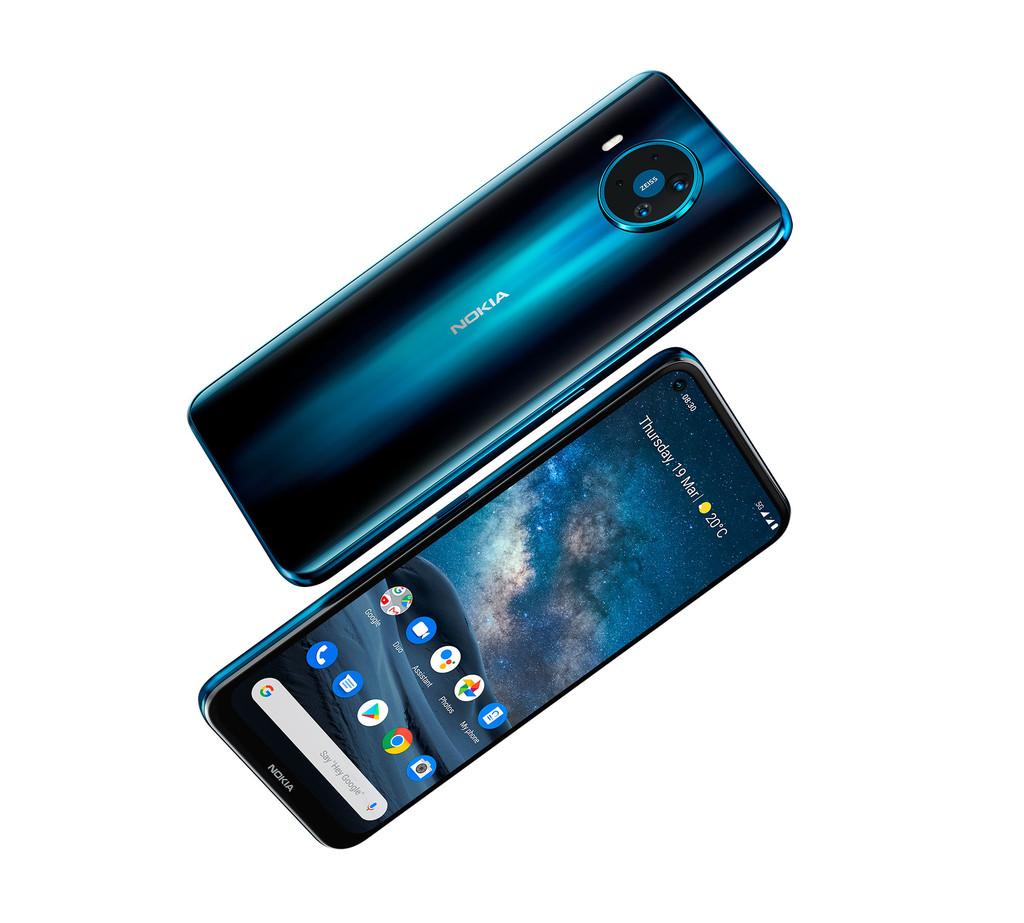 Nokia 8.3 5G: el 1º amovible 5G de